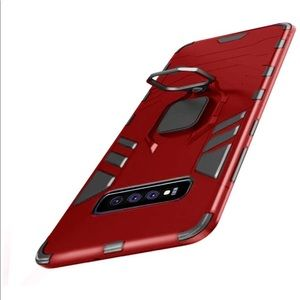 NEW Samsung Galaxy S10 Heavy Duty Case w/Kickstand